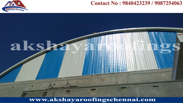 Roofing Shed Work contractors in Chennai